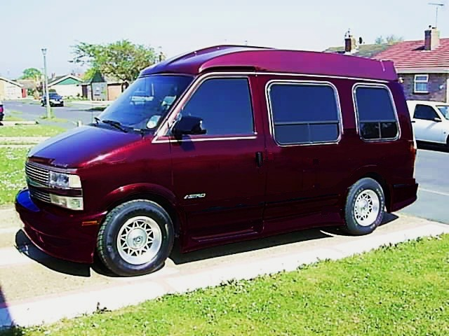Mock up of Astro Van paint job