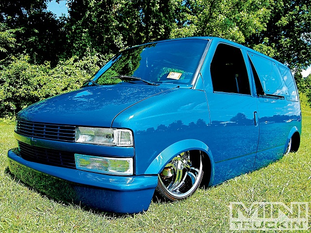 too low Chevy Astro Van