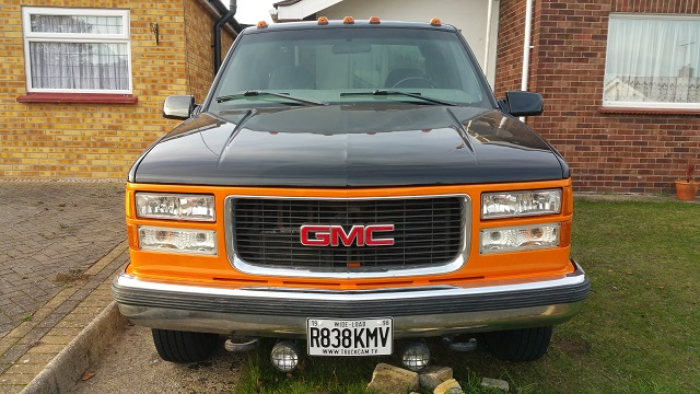 Fitted the new chevy gmc dually head lining