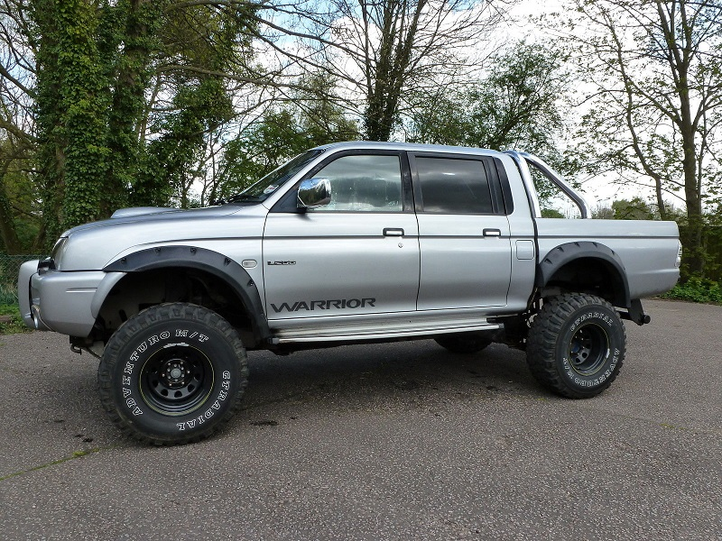 Warrior L200 with 3 inch lift