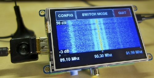 SDR radio with Raspberry Pi