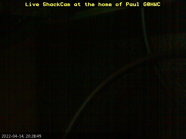 Latest image from my shack